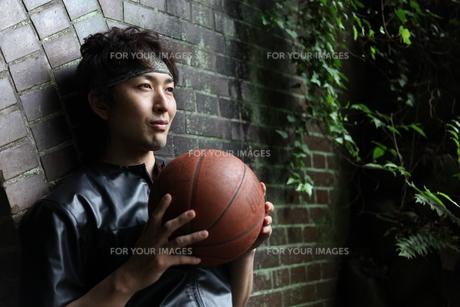 バスケット選手の素材 [FYI00498324]
