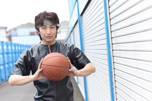 バスケットボールの選手の素材 [FYI00498333]