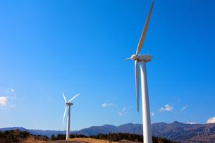 風力発電所の素材 [FYI00498526]
