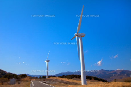 風力発電所の素材 [FYI00498529]