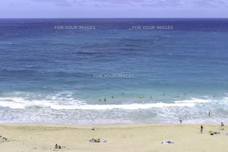 ハワイのビーチの写真素材 [FYI00498709]