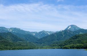 笹ヶ峰ダム 乙見湖 の写真素材 [FYI00498888]