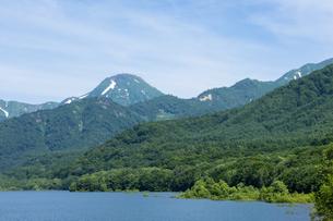 笹ヶ峰ダム 乙見湖 の写真素材 [FYI00498889]