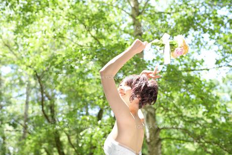 結婚式 新婦 日本人の素材 [FYI00499092]