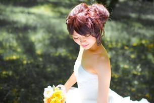 結婚式 新婦 日本人の素材 [FYI00499095]