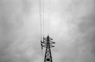 電線の写真素材 [FYI00499103]