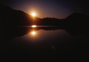 夕日の写真素材 [FYI00499122]