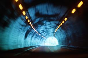 トンネルの写真素材 [FYI00499137]