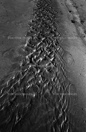 砂の模様の素材 [FYI00499347]