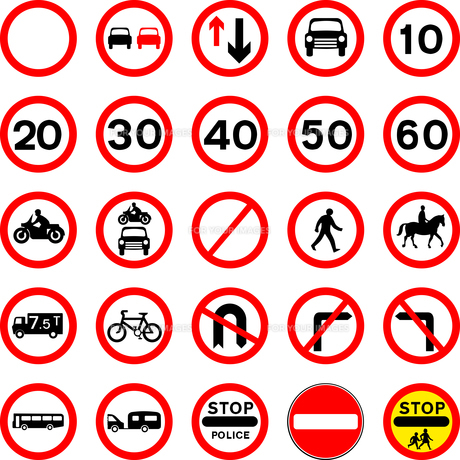 signs_symbolsの写真素材 [FYI00499867]