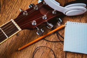 music_instrumentsの写真素材 [FYI00533976]