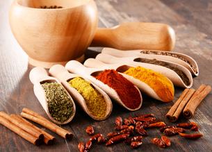 ingredients_spicesの写真素材 [FYI00535884]