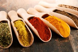 ingredients_spicesの写真素材 [FYI00535885]