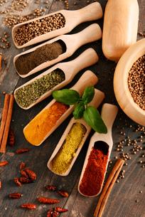 ingredients_spicesの写真素材 [FYI00535886]