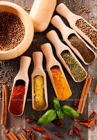 ingredients_spicesの写真素材 [FYI00535887]