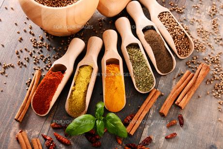 ingredients_spicesの写真素材 [FYI00535888]