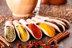 ingredients_spicesの写真素材 [FYI00535889]