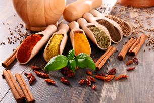 ingredients_spicesの写真素材 [FYI00535890]