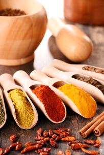 ingredients_spicesの写真素材 [FYI00535891]