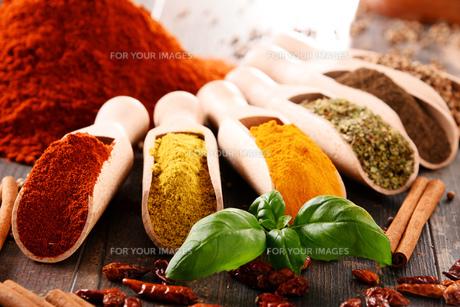 ingredients_spicesの写真素材 [FYI00535893]