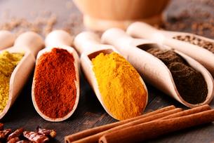 ingredients_spicesの写真素材 [FYI00535894]