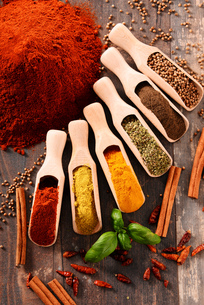 ingredients_spicesの写真素材 [FYI00535895]