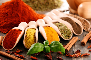 ingredients_spicesの写真素材 [FYI00535898]