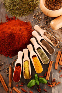 ingredients_spicesの写真素材 [FYI00535899]