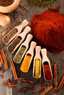 ingredients_spicesの写真素材 [FYI00535900]