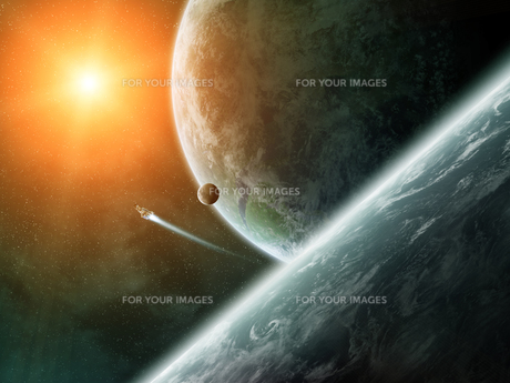 outer_space_astronomyの写真素材 [FYI00539343]