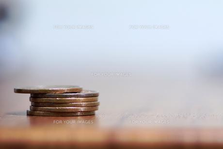 十円銅貨の写真素材 [FYI00542052]