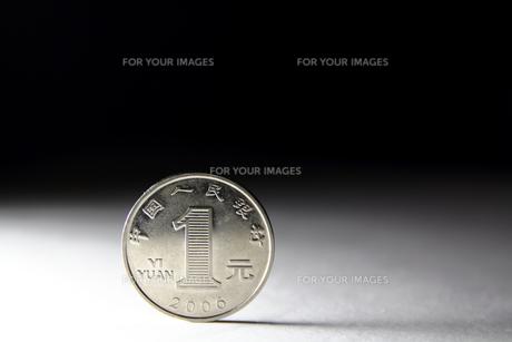 一元硬貨の写真素材 [FYI00542137]