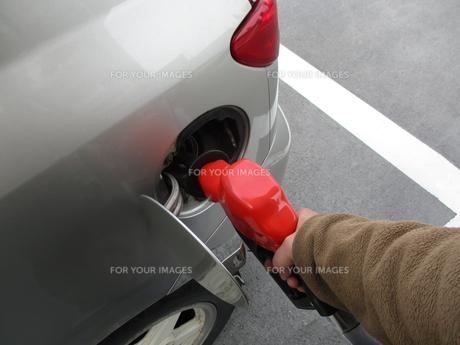 給油の写真素材 [FYI00542158]