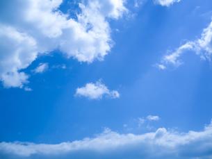青空と雲の写真素材 [FYI00542164]