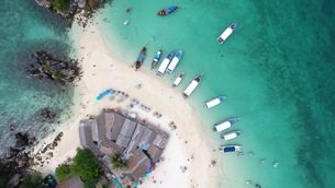 タイの島03の写真素材 [FYI00542571]