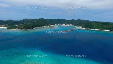 座間味島の写真素材 [FYI00542577]
