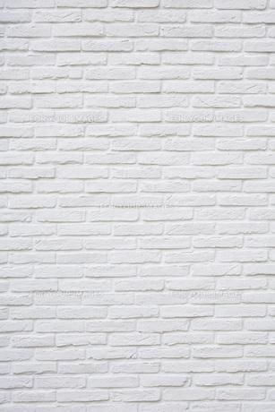 白いレンガのテクスチャ背景の写真素材 [FYI00542666]