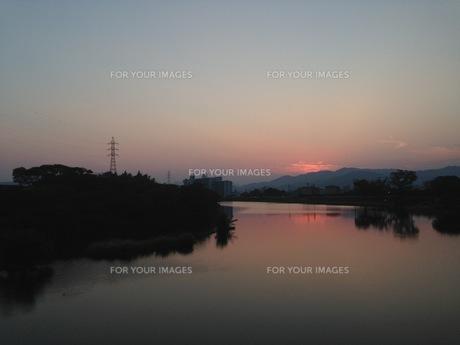 夕日の写真素材 [FYI00542766]