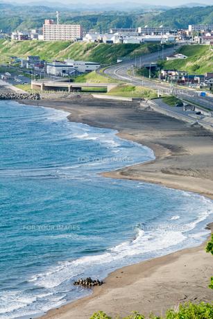 海岸線の写真素材 [FYI00542786]