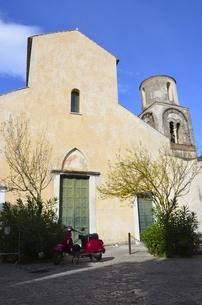 イタリアのラヴェッロの街中風景の写真素材 [FYI00543071]
