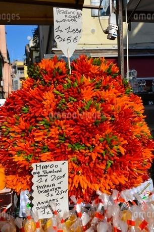 イタリアのベネチアの街並と街中風景の写真素材 [FYI00543080]