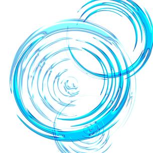 渦巻 スパイラル 円形のイラスト素材 [FYI00543293]