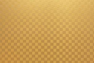 金紙のテクスチャ背景の写真素材 [FYI00543319]