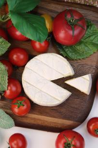 カマンベールチーズの写真素材 [FYI00543627]