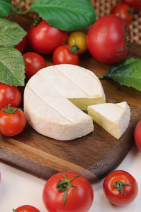 カマンベールチーズの写真素材 [FYI00543628]