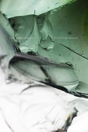 ガラスの超接写の写真素材 [FYI00543751]
