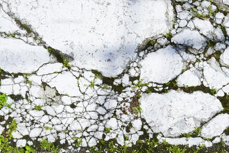 ひび割れた岩の写真素材 [FYI00543756]
