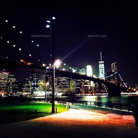 ブルックリンブリッジの写真素材 [FYI00543843]