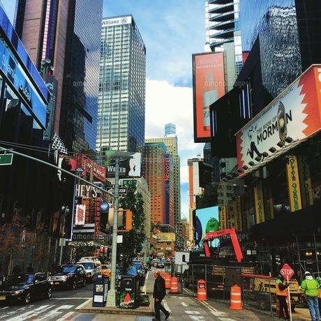 ニューヨークの昼下がりの写真素材 [FYI00543844]