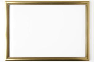 金色の額縁の写真素材 [FYI00543979]
